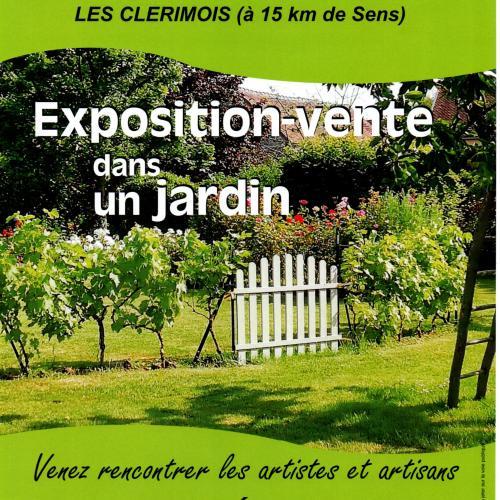 5ème exposition L'Art et l'Artisanat à ciel ouvert LES CLERIMOIS (Yonne) le 25 Août 2019