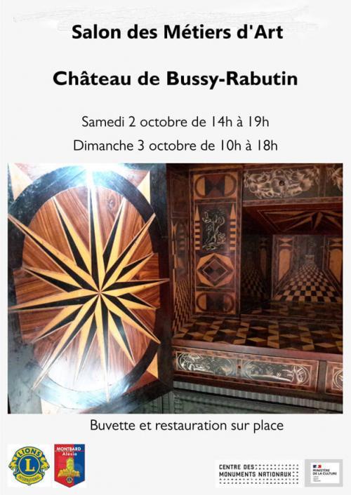 Salon des métiers d'art et de l'artisanat 2 et 3 octobre 2021