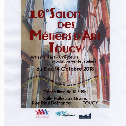 10ème Salon des Métiers d'Art de Toucy (Yonne)