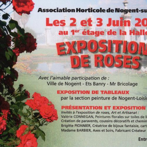 Artisanat d'Art à l'exposition de roses de Nogent sur Seine (10)