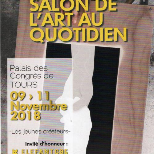 TOURS SALON L'ART AU QUOTIDIEN  du 9 au 11 novembre
