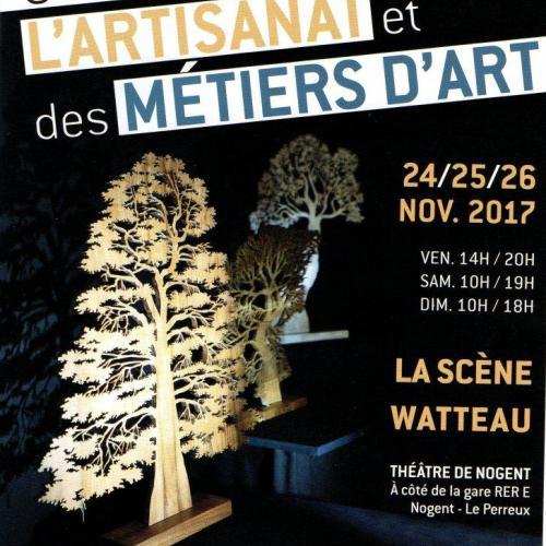 8ème Salon de l'Artisanat et des Métiers d'Art de Nogent sur Marne