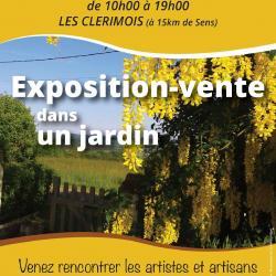 6ème exposition-vente artisanat d'art le 30 AOUT 2020 LES CLERIMOIS 89190