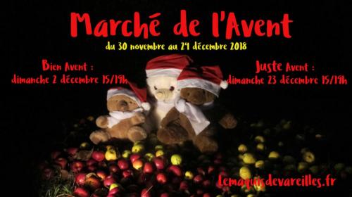 MARCHE DE L'AVENT au MAQUIS DE VAREILLES