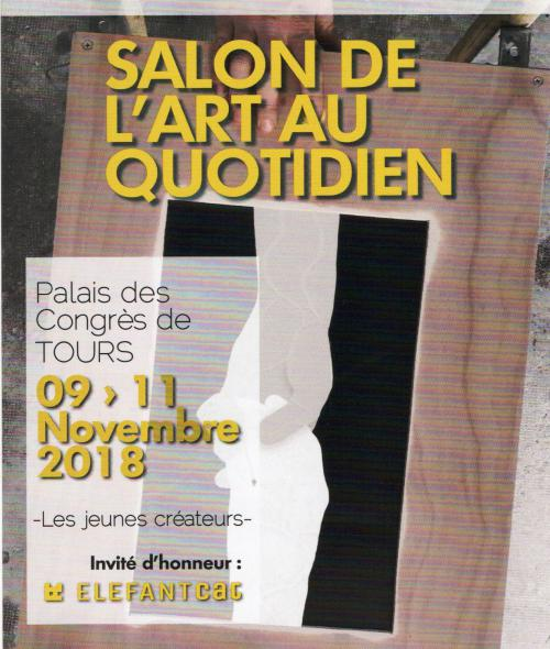TOURS SALON L'ART AU QUOTIDIEN  du 9 au 11 novembre