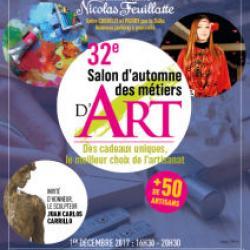 32ème Salon d'Automne des Métiers d'Art de Chouilly (Marne)